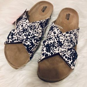 New Target Mossimo Slides Sandals